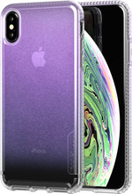 Tech21 Pure Shimmer iPhone Xs Max Back Cover Iridescent Roze
