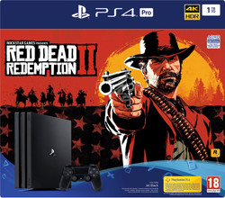 Sony PlayStation 4 Pro 1 TB Red Dead Redemption 2 Bundel BE