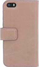 Senza Pure Leather Wallet iPhone 5/5S/SE Book Case Roze