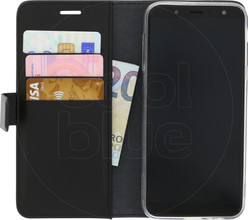 Azuri Wallet Magneet Galaxy J6 (2018) Book Case Zwart