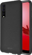 Azuri Flexible Sand Huawei P20 Pro Back Cover Zwart