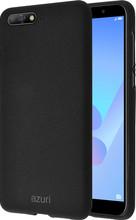 Azuri Flexible Sand Huawei Y6 (2018) Back Cover Zwart