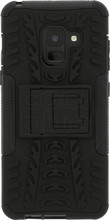 Just in Case Rugged Hybrid A8 2018 Back Cover Zwart