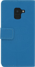 Just in Case Wallet Galaxy A8 2018 Book Case Blauw