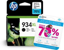 HP 934XL Cartridge Zwart (C2P23AE)