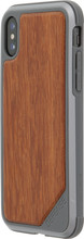 X-Doria Defense Lux Rosewood iPhone X Back Cover Zwart
