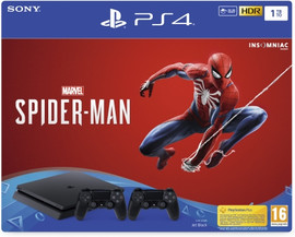 Sony PlayStation 4 Slim 1 TB + Spider Man + 2e Controller