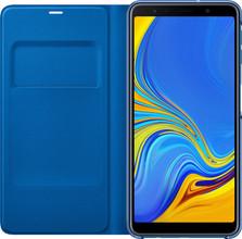 Samsung Galaxy A7 (2018) Wallet Book Case Blauw