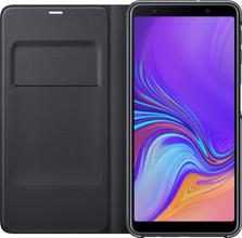 Samsung Galaxy A7 (2018) Wallet Book Case Zwart