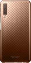 Samsung Galaxy A7 (2018) Gradation Clear Back Cover Goud