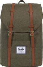Herschel Retreat Ivy Green Slub/Tan Synthetic Leather