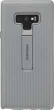 Samsung Note 9 Protective Standing Back Cover Zilver