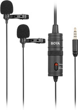 Boya BY-M1DM Duo Lavalier Microfoon