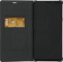 Samsung Note 9 Leather Wallet Book Case Zwart