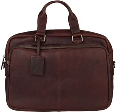 Burkely Antique Avery Workbag 15,6'' Bruin