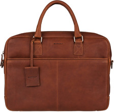 Burkely Antique Avery Laptoptas 15'' Cognac