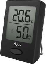 Duux Sense Hygrometer en Thermometer Zwart