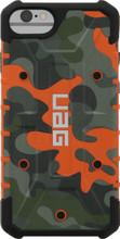UAG Pathfinder Camo Apple iPhone 6S/7/8 Back Cover Oranje