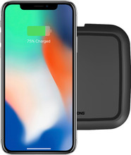 ZENS Single Ultra Fast Wireless Charger 15W Zwart