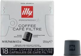 Illy Iperespresso Capsules Donkere Branding 18 stuks