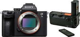 Sony Alpha A7III + Jupio Battery Grip voor Sony A9 / A7