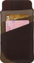 Valenta Pocket Supreme iPhone 6+/6S+/7+/8+ Pouch Bruin