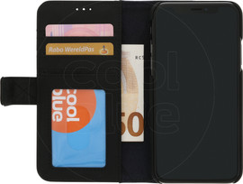 Decoded Leather 2-in-1 Wallet iPhone X/Xs Book Case Zwart