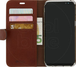 Valenta Classic Luxe Galaxy S8 Book Case Bruin