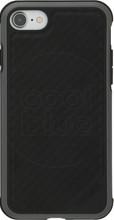 X-Doria Defense Lux Camo iPhone 7/8 Back Cover Zwart