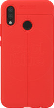 Just in Case Soft Design TPU Huawei P20 Lite Back Cover Rood