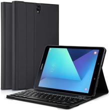 Just in Case Premium Samsung Galaxy Tab S3 Book Case Zwart