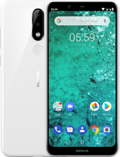 Nokia 5.1 Plus Wit