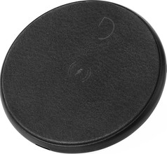 Decoded Leather Wireless Fast Charger Zwart