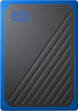 WD My Passport Go 500 GB Zwart / Blauw