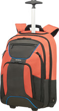 "Samsonite Laptop Backpack Wheels 17,3"" Orange/Anthracite"