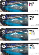 HP 973X Cartridge Combo pack 4-Kleuren