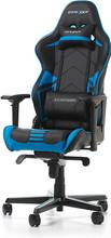 DX Racer RACING PRO Gaming Chair Zwart/Blauw