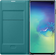Samsung Galaxy S10 LED View Cover Book Case Groen