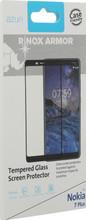 Azuri Gehard Glas Nokia 7 Plus Screenprotector Glas Zwart