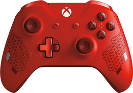 Microsoft Xbox Draadloze Controller Sport Red SE