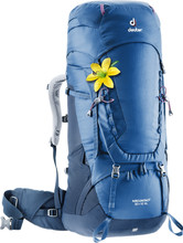 Deuter Aircontact 50L + 10L SL Steel/Midnight