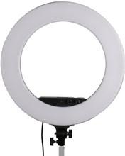 StudioKing LED Ringlamp Set LED-480ASK op 230V