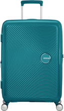 American Tourister Soundbox Expandable Spinner 67cm Jade Gre