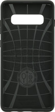 Spigen Liquid Air Samsung Galaxy S10 Plus Back Cover Zwart