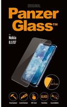 PanzerGlass Screenprotector Nokia 8.1/X7