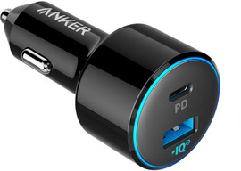 Anker PowerDrive II Autolader 2x Usb met 1x Power Delivery