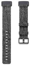 Fitbit Charge 3 Kunststof Nylon Grijs L