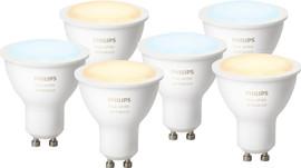Philips Hue White Ambiance GU10 (6x)