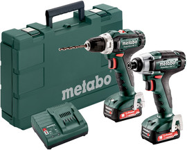 Metabo PowerMaxx BS 12 + PowerMaxx SSD 12
