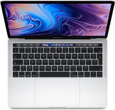 """Apple MacBook Pro 13"""" Touch Bar(2019)MV9A2FN/A Zilver A"""